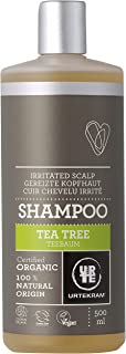 Urtekram Teebaum Shampoo Bio, gereizte Kopfhaut, 500 ml