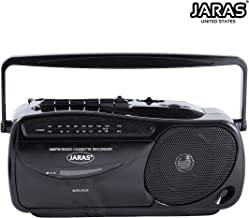 Jaras JJ-2618 Limited Edition Portable Boombox Tape Cassette Player/Recorder with AM/FM..
