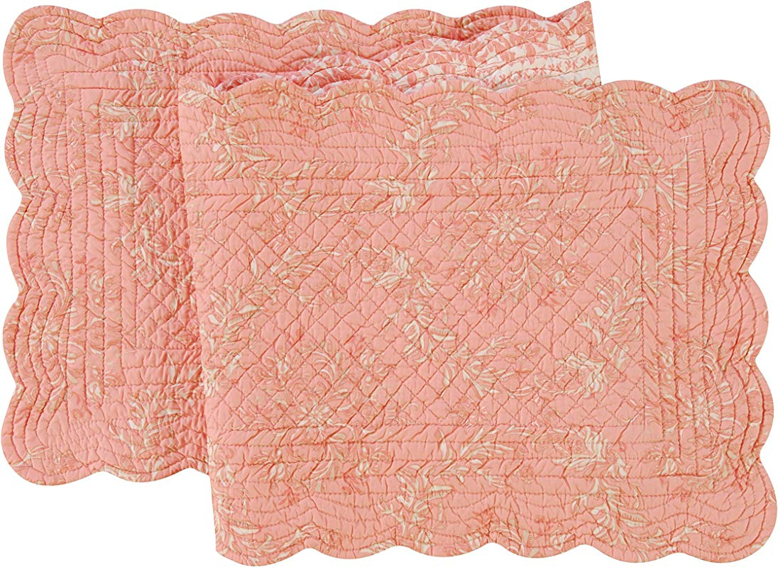 Quilted 14 X 51 Runner Windsor Pink