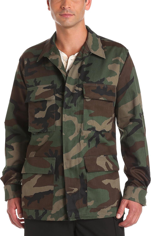 Woodland Camo Uniform BDU Coat Ripstop Propper