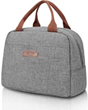 Lunch Bag Cooler Box For Women Men Tote Kids Igloo Food | Insulated Thermal Meal Prep Water Resistant Leak Proof Liner Freezable | For Men Woman Kids Work Vacation Outdoors By MLUX Designs