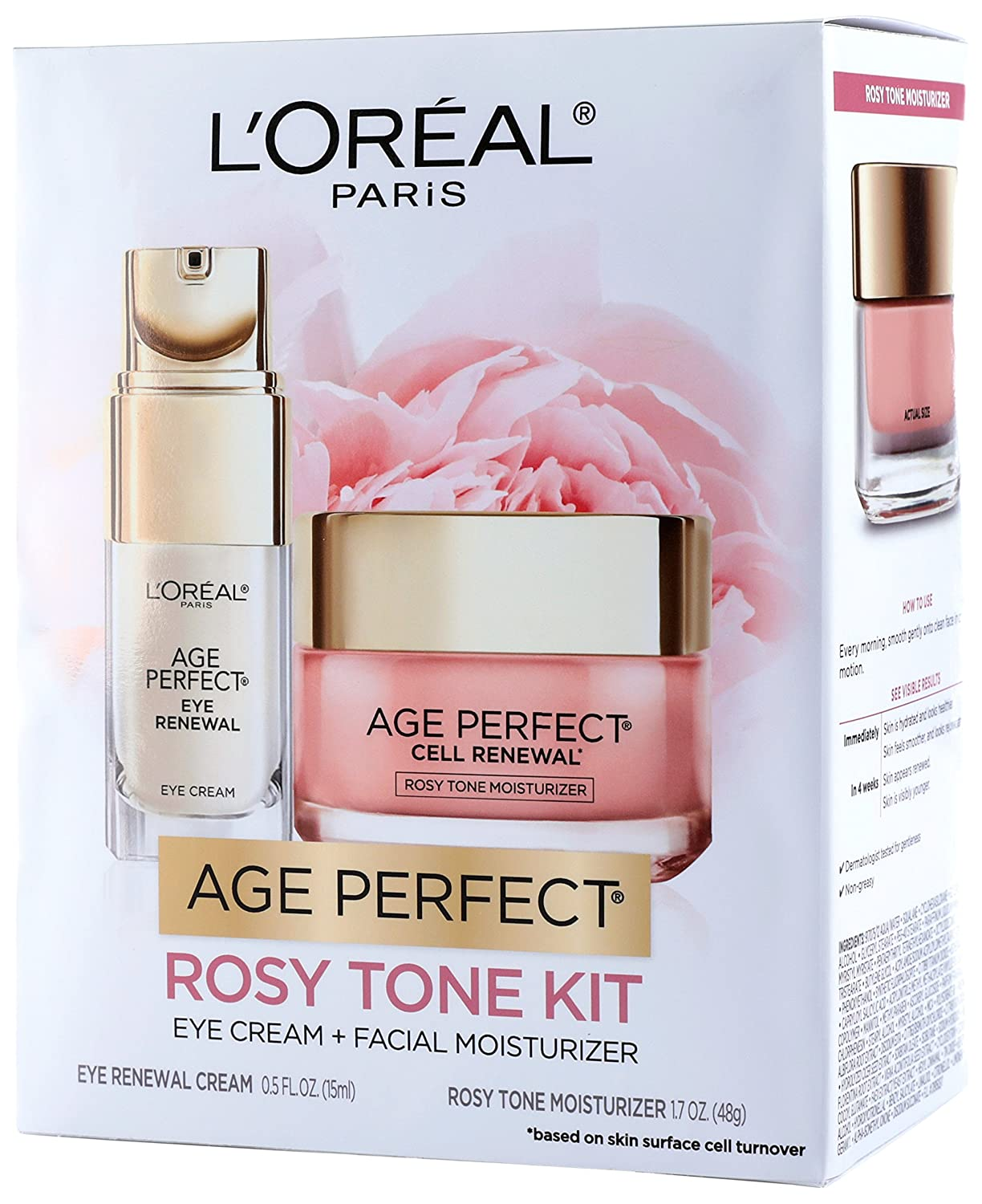 L'Oreal Paris Skin Care Giftable Max 57% OFF Kit Perfect Tone Age Overseas parallel import regular item with Rosy