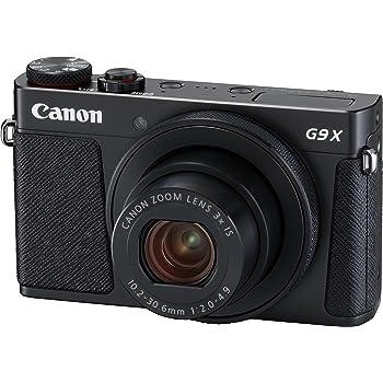 Canon コンパクトデジタルカメラ PowerShot G9 X Mark II ブラック 1.0型センサー/F2.0レンズ/光学3倍ズーム PSG9XMARKIIBK