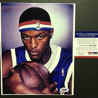 Autographed/Signed Al Thornton Los Angeles LA Clippers 8x10 Basketball Photo PSA/DNA COA