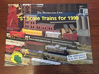 Showcase Line S Scale Trains for 1999