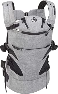 Contours Journey 5-in-1 Child & Baby Carrier, 5 Carrying Positions, Graphite Grey