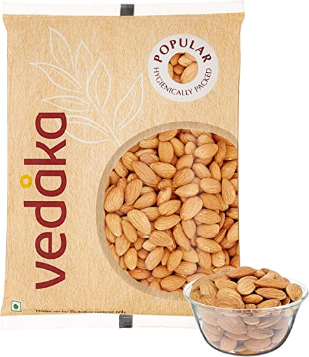 Vedaka Popular Whole Almonds, 1kg 1