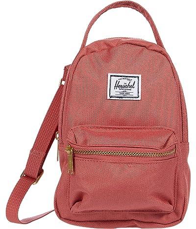 Herschel Supply Co. Nova Crossbody (Dusty Cedar) Handbags