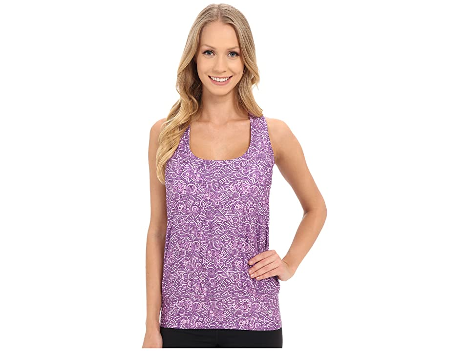Stonewear Designs Tango Tank Top (Violet Fiesta) Women