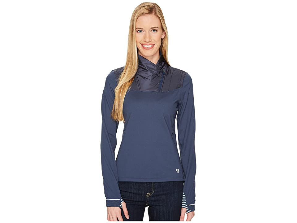 Mountain Hardwear 32deg Insulated 1/2 Zip (Zinc) Women