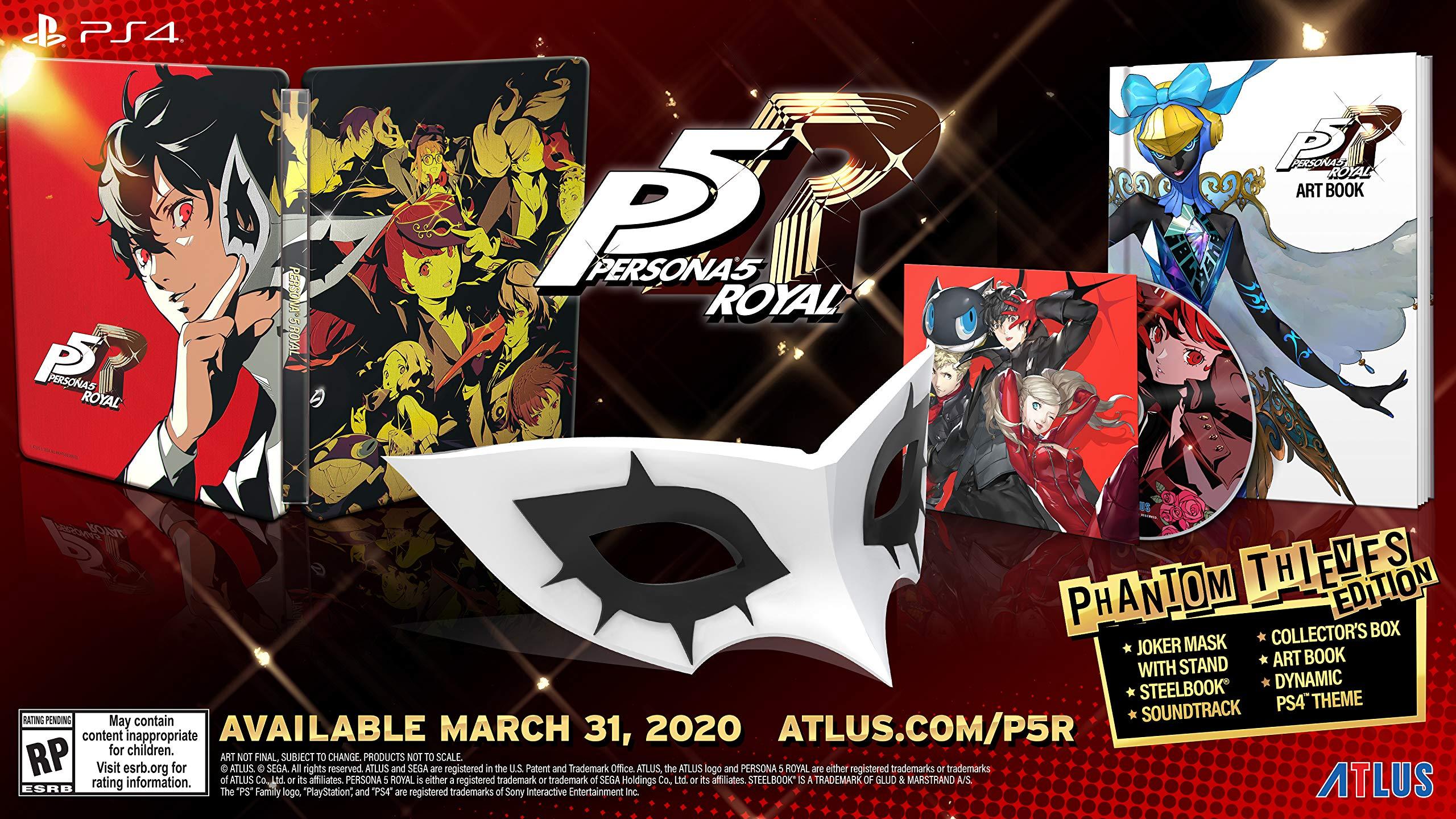 Persona 5 Royal Phantom Thieves Amazon Sg Video Games