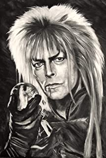Goblin King - David Bowie - Jareth - Labyrinth Art perfect gift Limited Edition print direct from artist
