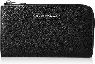 A|X Armani Exchange womens Round Zip Wallet