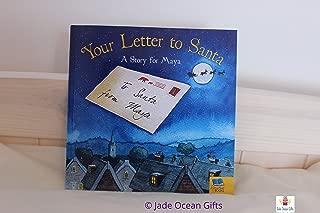 'Funda libro Your Letter To Santa (Tu Carta a Papá Noel–Personalizada, en inglés)