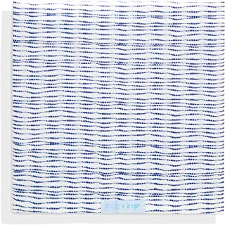 QuickZip Crib Extra Zip-On Sheet (SecureFit Wraparound Base Not Included) - Faster, Safer, Easier Baby Crib Sheets – Navy Shibori 100% Cotton Percale Weave - Fits All Standard Crib Mattresses