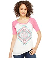 Rock and Roll Cowgirl - 1/2 Sleeve Tee 49T2104