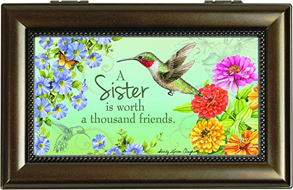 Carson Home Accents Music Box Sister Friend