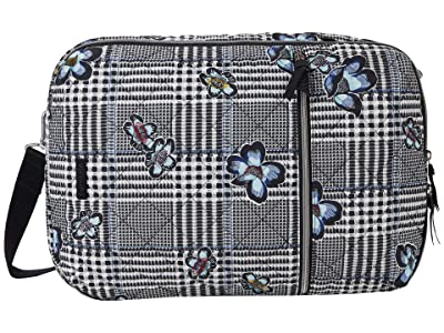 Vera Bradley Performance Twill Lay Flat Convertible Backpack (Bedford Plaid) Backpack Bags