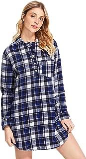 Latuza Women's Cotton Flannel Nightgown