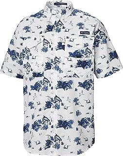 Columbia 男式 Super Bonehead 经典短袖衬衫