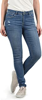 BlendShe Adriana Jeans Denim Vaquero Tejano para Mujer Elástico Relaxed-Fit