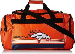 Denver Broncos Medium Striped Core Duffle Bag