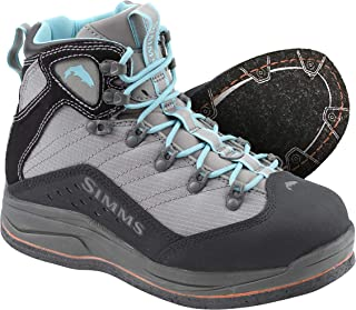 Simms VaporTread Felt Sole Wading Boots for Women – Lightweight Fishing & Hiking Boots – Neoprene Lining