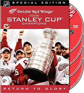 NHL: Stanley Cup 2008 Champions - Detroit Red Wings