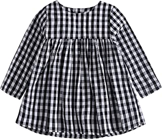 gingham baby outfit