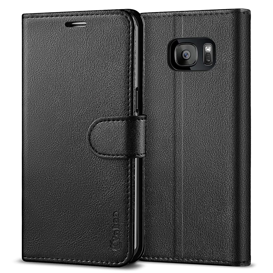 Vakoo Wallet Phone Case for Samsung Galaxy S7 Edge, Premium Flip Case and PU Leather Cover for Samsung Galaxy S7 Edge (5.5
