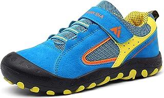 Mishansha Zapatillas de Deporte Niños Ligeras Transpirable Zapatos de Correr Antideslizante Sneakers, Unisex-niños