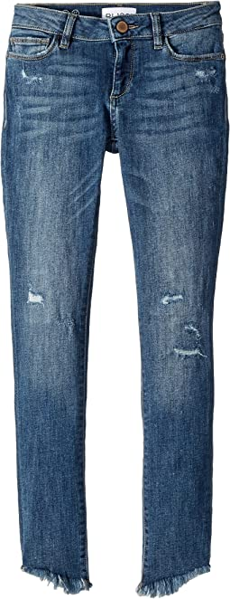 Chloe Distressed Skinny in Avalon  (Toddler/Little Kids)