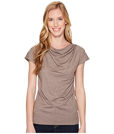 Royal Robbins Essential Tencel(r) Cowl Neck Top (Falcon Heather) Women