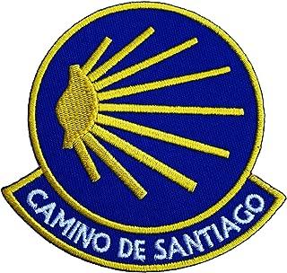 Karma Patch Camino De Santiago Patch (3.5 Inch) Saint James Way Spain Embroidered Iron / Sew on Badge DIY Spanish Trek Applique