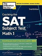 Cracking the Sat Math 1 Subject Test