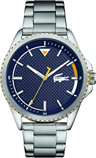 Lacoste Men's Analogue Quartz Watch with Stainless Steel Strap 2011030
