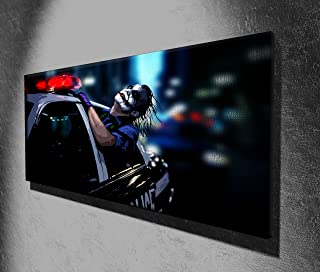 The Joker Batman Dark Knight Panoramic Movie Canvas Print Picture 50 x 20 inch Large Canvas Art Print Picture Poster, Ready to Hang New…