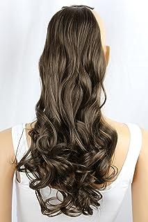 comprar comparacion PRETTYSHOP Clip en las extensiones postizos ondulado de cabello pelo largo hechos de fibras sintéticas resistentes al calo...