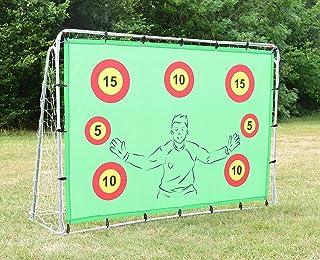 Portería de fútbol con objetivos, 2.1 x 1.5 metros, desaf