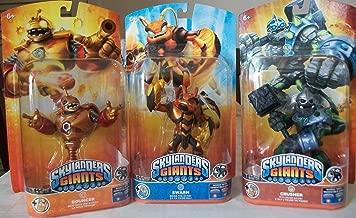 Skylanders Giants Figures Character Packs Bundle with Bouncer Swarm & Crusher