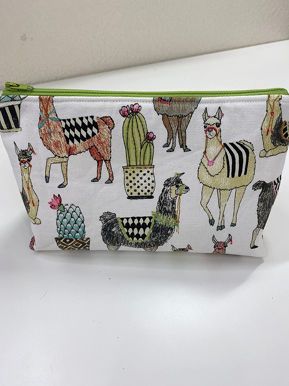 Llama Cosmetic Bag Make colleg bag up Indefinitely Regular store Organizer