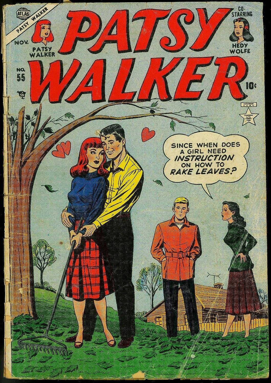 PATSY WALKER #55 PAPER DOLL ISSUE HEADLIGHTS 1953 ATLAS FR