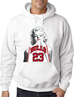 marilyn monroe bulls sweatshirt
