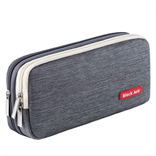 Puroma Pencil Case with 2 Compartments, Zipper Large Storage Pens Pouch Bag for Student Office College Middle School High ...