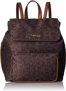 Calvin Klein womens Calvin Klein Abby Nylon Flap Backpack
