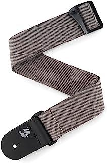 D'Addario Accessories Classic Tweed Guitar Strap (Grey (50TW01))