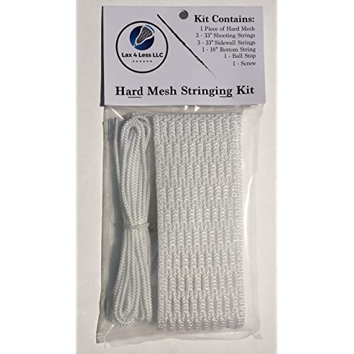 Lax 4 Less: 15mm Hard Mesh Stringing Kit