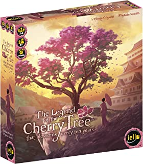IELLO The Legend of The Cherry Tree…Light Strategy Game