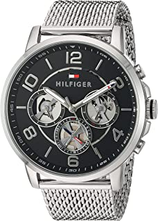 Tommy Hilfiger Men's Quartz Stainless Steel Watch,...