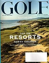 Golf Magazine October 2019 | Travel Guide 2019, Top 100 Resorts North America